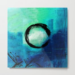 Enso No.MM13D by Kathy Morton Stanion Metal Print