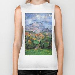 """Paul Cezanne """"Mont Sainte-Victoire"""", c.1890 Biker Tank"""