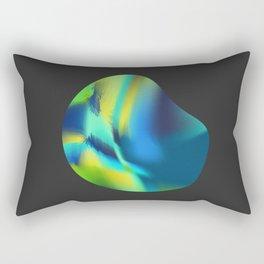 Abstract lights II Rectangular Pillow