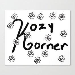Kozy Korner 2 Canvas Print