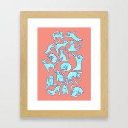 Kooky Katz Framed Art Print