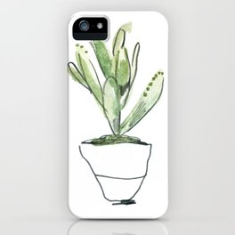 WC&S - kalanchoe tomentosa iPhone Case