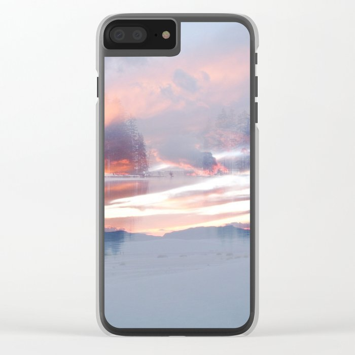 Life of Color Clear iPhone Case