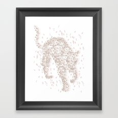 Broken Jaguar Framed Art Print