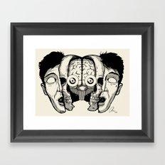 Expand your mind v.1 Framed Art Print