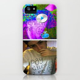 PAY ATTENTION 2 ME TEE iPhone Case