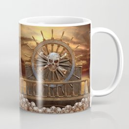 Pirate Skull Rudder Coffee Mug