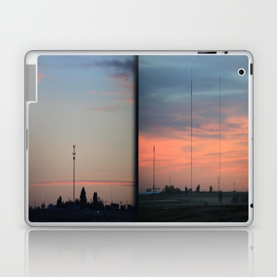 In The Plains (Planes) Field Laptop & iPad Skin