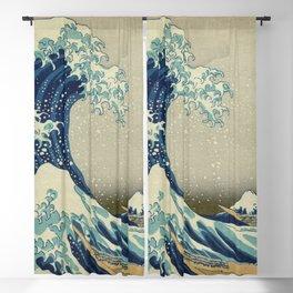 Great Wave of Kanagawa Blackout Curtain