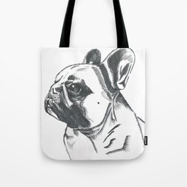 Pickles the Frenchie Tote Bag