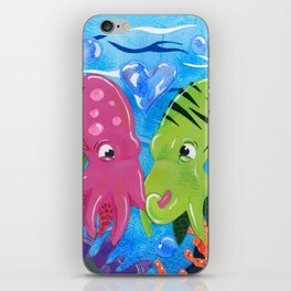 Squid Lovin' iPhone Skin