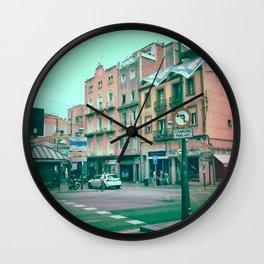 Facing Matter Wall Clock