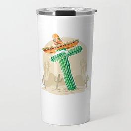 Cinco De Mayo Cactus Dab Funny Mexican Food Tacos Nacho Lovers Gift Travel Mug