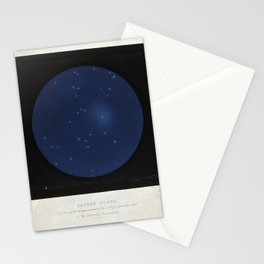 Encke's Comet, as seen at its reappearance on the 22nd of September 1848 at the Hartwell Observatory Stationery Cards