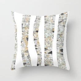 Forest Fetish Throw Pillow
