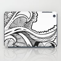 zentangle iPad Cases featuring zentangle by Pinkspoisons