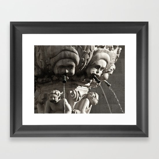 Out of the Mouths of Babes Framed Art Print