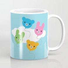 Kawaii Animal Balloons Mug
