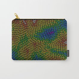 Abstract digital life Carry-All Pouch