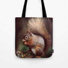 RED SQUIRREL. Tote Bag