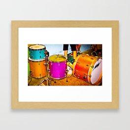 Drumz Framed Art Print