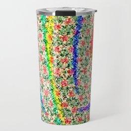 Colorful Lotus flower - uma releitura Travel Mug