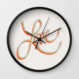 Fruit of the Spirit - Love Wall Clock