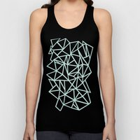 Ab Outline Thick Mint Unisex Tank Top