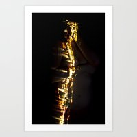 Wanderlust - Body of Lights Art Print