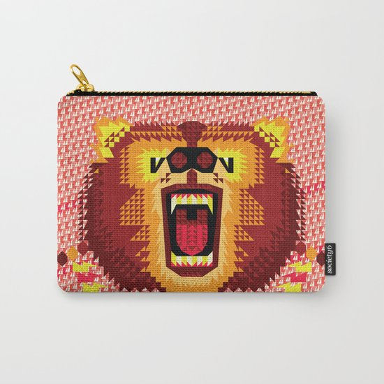 Geometric Bear 2012 Carry-All Pouch