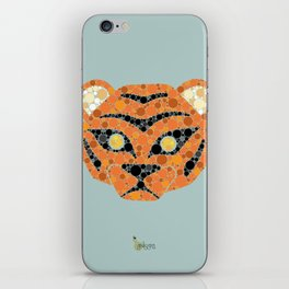 Colourblind Tiger iPhone Skin