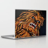 chewbacca Laptop & iPad Skins featuring Chewbacca by Laura-A