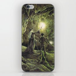 Harry and Dumbledore in the Horcrux Cave iPhone Skin