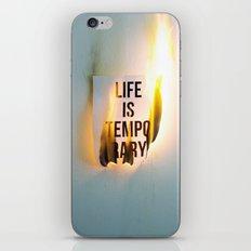 Temporary iPhone Skin