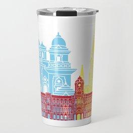 Chennai skyline pop Travel Mug