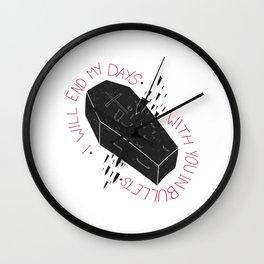 Dear Darren Wall Clock