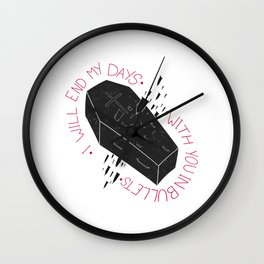 Dear Darren Wall Clock