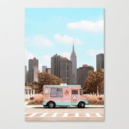 New York Ice Cream Canvas Print