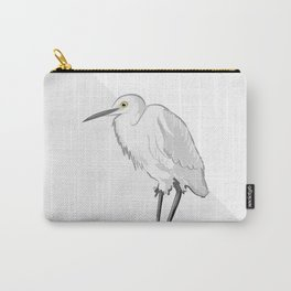 Grey Heron Minimalist Carry-All Pouch