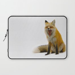 Yawning Fox Laptop Sleeve