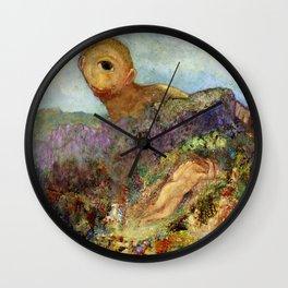 "Odilon Redon ""The Cyclops"" Wall Clock"