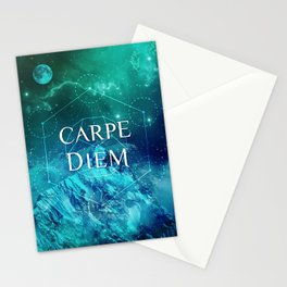 CARPE DIEM GEOMETRY Stationery Cards