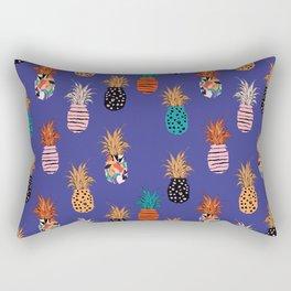 Funky Pineapple Pattern 4.0 Rectangular Pillow