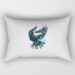 Forest Falcon Rectangular Pillow