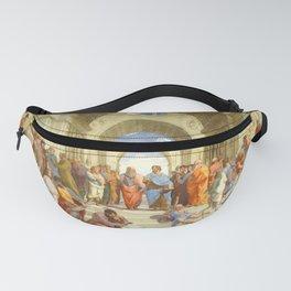 """Raffaello Sanzio da Urbino """"The School of Athens"""", 1509-1510 Fanny Pack"""