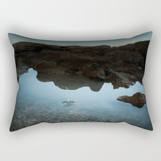 BLUE LAGOON V.II Rectangular Pillow