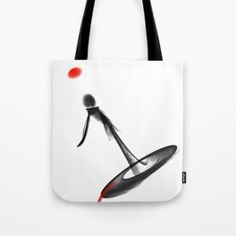 Whattheline iconic artworks Tote Bag