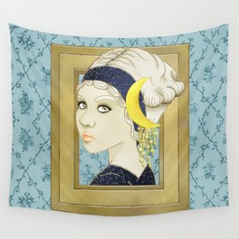 Moon Series: 1910s Wall Tapestry