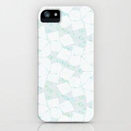 Ghost Town (Aqua Glow) iPhone Case