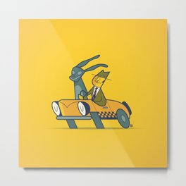 Who framed Donnie Darko? Metal Print